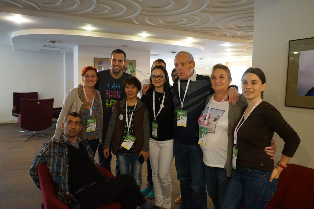 Attendees from Romania.