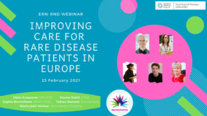 Improving care for rare disease patients in Europe (Rare Disease Day Webinar)